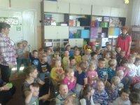 Zaangażowanie dzieciaków w prelekcję